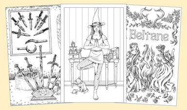 Heksen Kleurboek