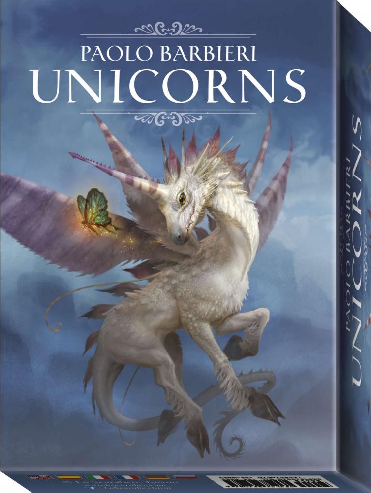 Barbieri Unicorns Oracle Cards