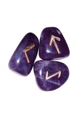 Runensteentjes van Amethist