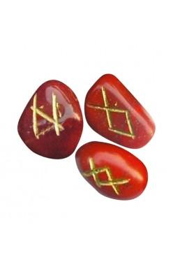 Runensteentjes van Rode Jaspis