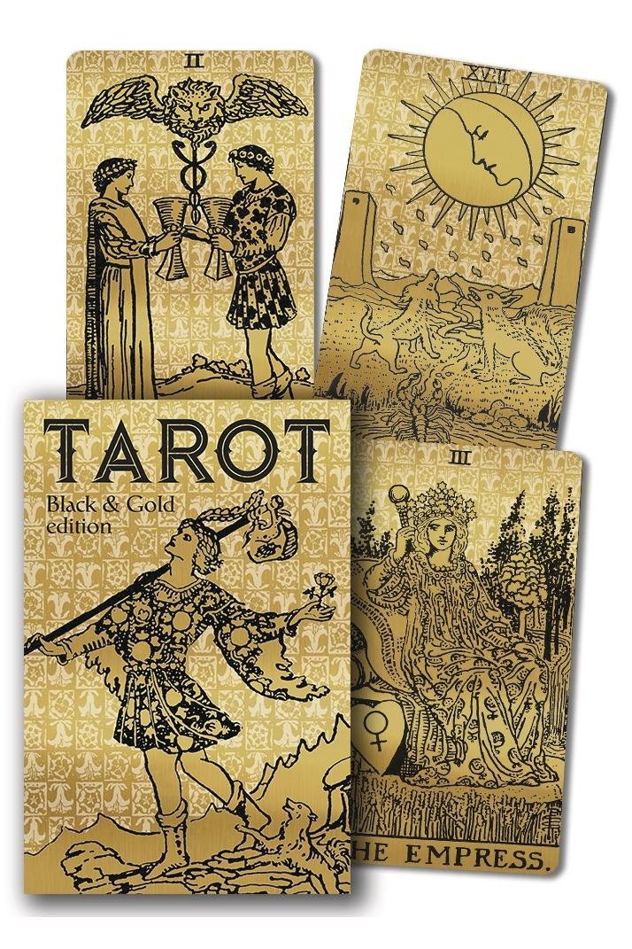Tarot Black & Gold - Set