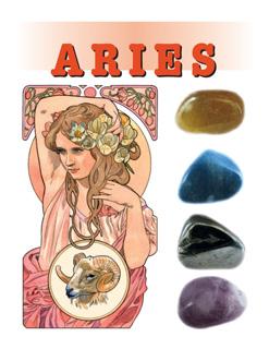 Astro-steentjes  1. Ram / Aries