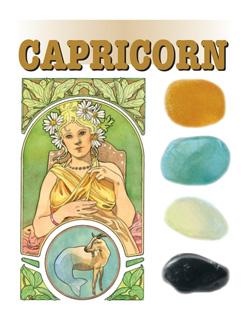 Astro-steentjes 10. Steenbok / Capricorn