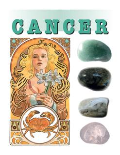 Astro-steentjes 4. Kreeft / Cancer