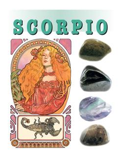 Astro-steentjes  8. Schorpioen / Scorpio