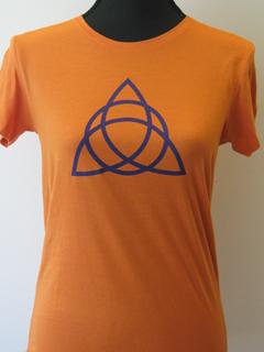 Symbol Shirt Triple Goddess - oranje (XL)